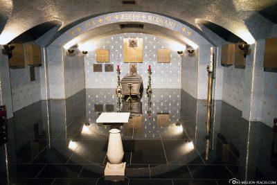 Die Krypta der Kathedrale