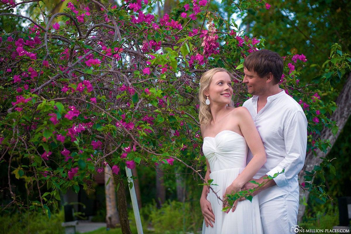 Hochzeit, Fotoshooting, ROBINSON Club, Malediven
