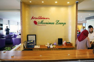 The Moonimaa Lounge at the Domestic Terminal