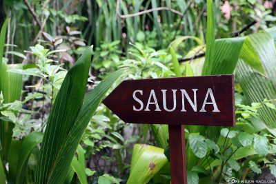 Sauna in the Maldives?