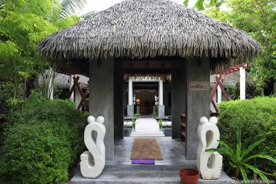 Entrance to Duniye Spa