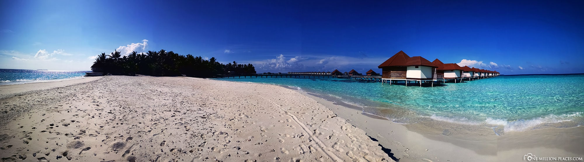 Beach, Palm Trees, Relaxation, Relaxing, All Inclusive, ROBINSON Club Maldives, Maldives, Gaaf Alif Atoll, TravelReport