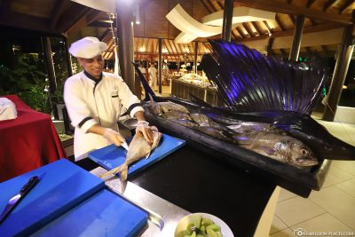 Preparation of fresh fish