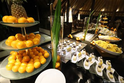Food selection in the restaurant