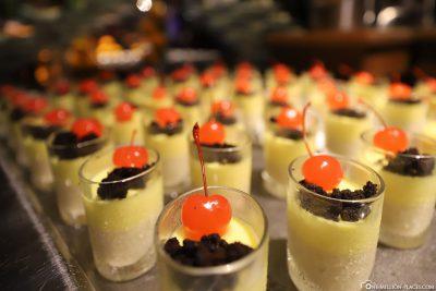 Lovingly prepared dessert