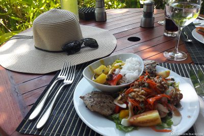 Lunch in the sun