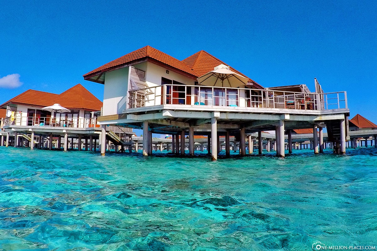 GoPro 5, Wasserbungalow, Overwater Bungalow, BUM2, ROBINSON Club Maldives, Malediven, Gaaf-Alif-Atoll, Reisebericht