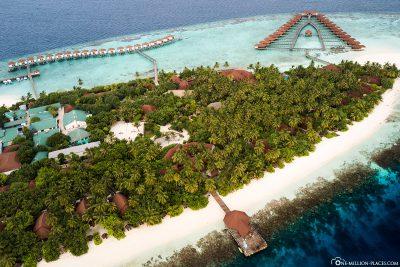 Die Insel des ROBINSON Club Maldives