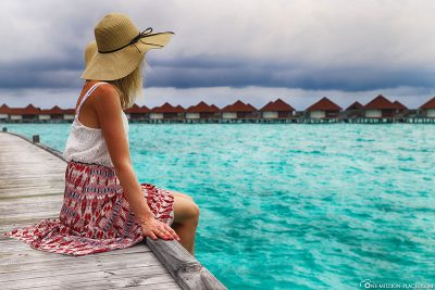 View of the Overwater Bungalows