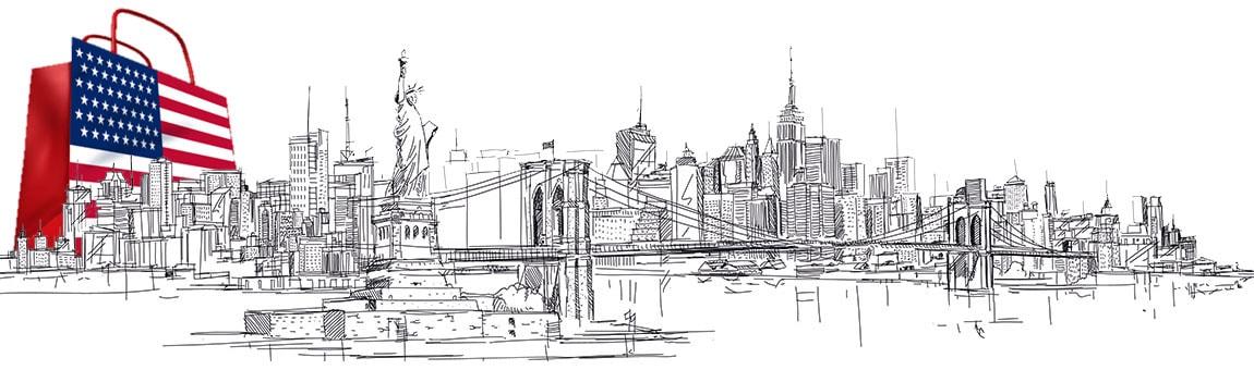 Shopping New York Headerbild