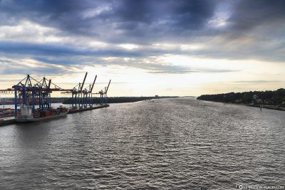 View of the Elbe
