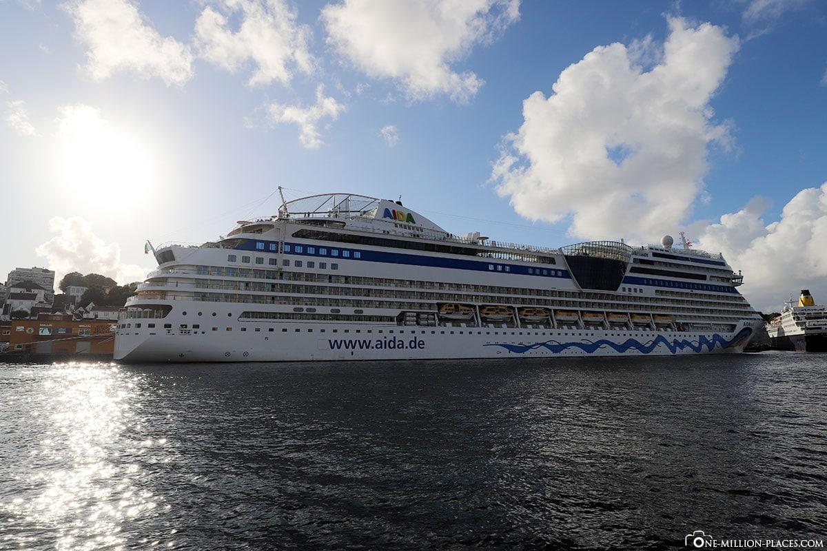 AIDAsehen, AIDAsol, Norwegen, Schiff, Hafen