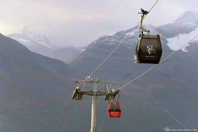 The Strandafjellet cable car