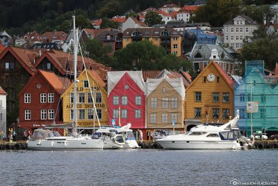 View of the Bryggen district
