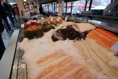 The fish market in Bergen