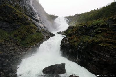 The Kjosfossen Waterfall