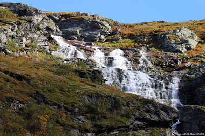 Everywhere you can find waterfalls