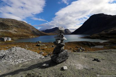 The Djupvatnet Mountain Lake, located at an altitude of 1,016 metres