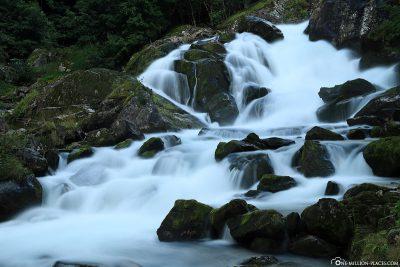 The Storfossen Waterfall