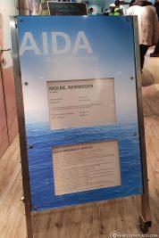 Die Hafeninfo für Molde