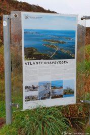 Die Atlantikstraße zwischen Molde und Kristiansund