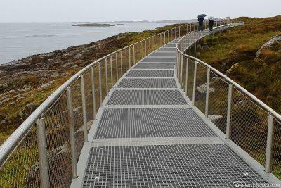 Der Rundweg an der kleinen Insel Lyngholmen