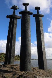 The Monument Swords in the Mountain