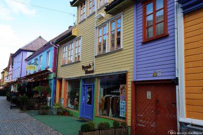 Cafes & Bars in der Gasse Øvre Holmegate