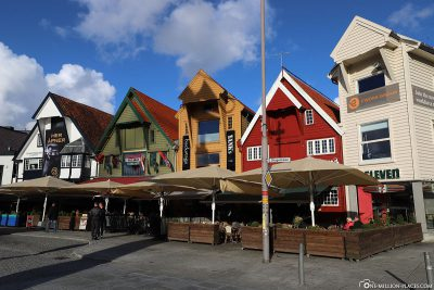 The storage houses on the Skagenkaien