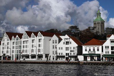 Die Häuser am Skagenkaien