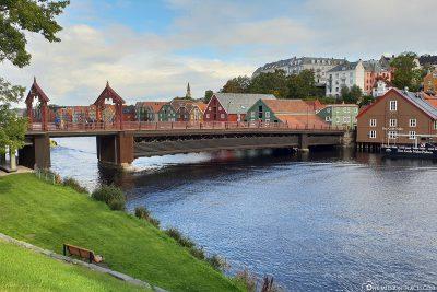 View of the Gamle Bybro City Bridge