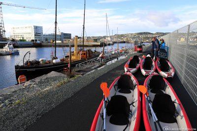 Kayak tour with AIDA
