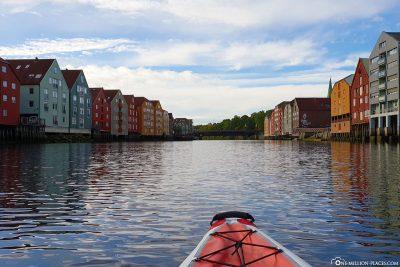 The storage city of Trondheim
