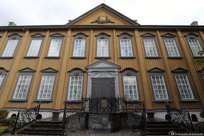 Stiftsgérden, one of the largest wooden buildings in Scandinavia
