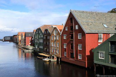 The storage town of Bakklandet