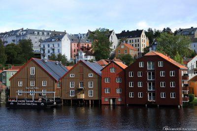 Trondheim's Speicherstadt