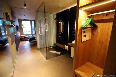 Unser Zimmer im 25hours Hotel