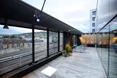 Trainspotting Roof Terrace