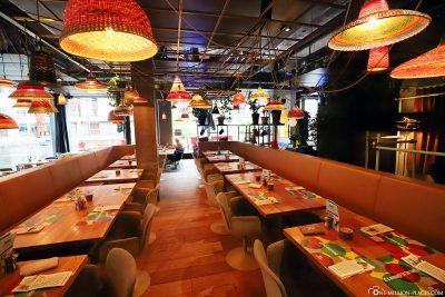 The restaurant NENI