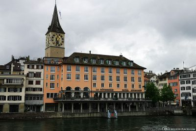 Houses on the Limmat