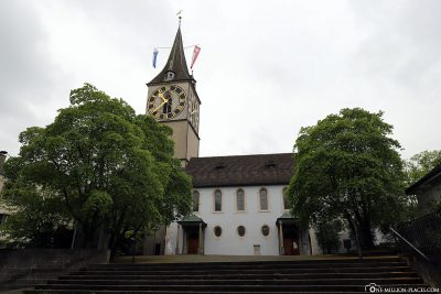 The Church of St. Peter in Zurich