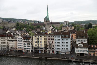 The view from the Lindenhof