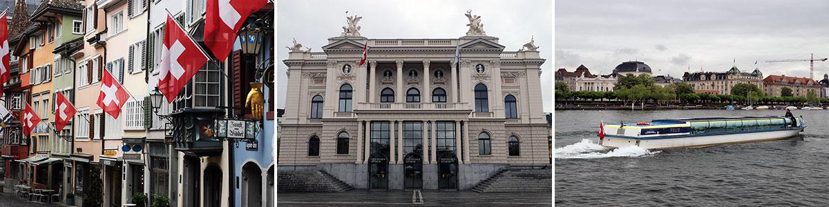 Zurich Sehenwürdigkeiten Headerbild