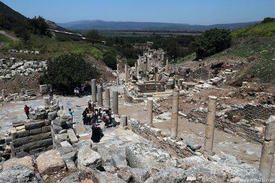 Das Odeon Theater in Ephesos