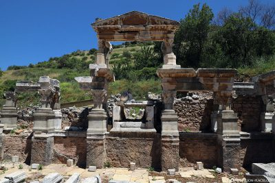Die Ruinen des Weltkulturerbes Ephesos
