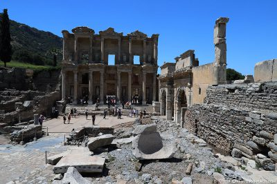 Die Celsus-Bibliothek in Ephesos