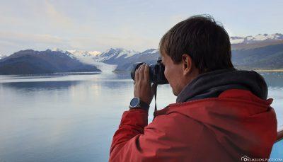 Blick auf den College Fjord