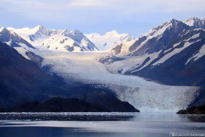 Der Bryn Mawr Gletscher