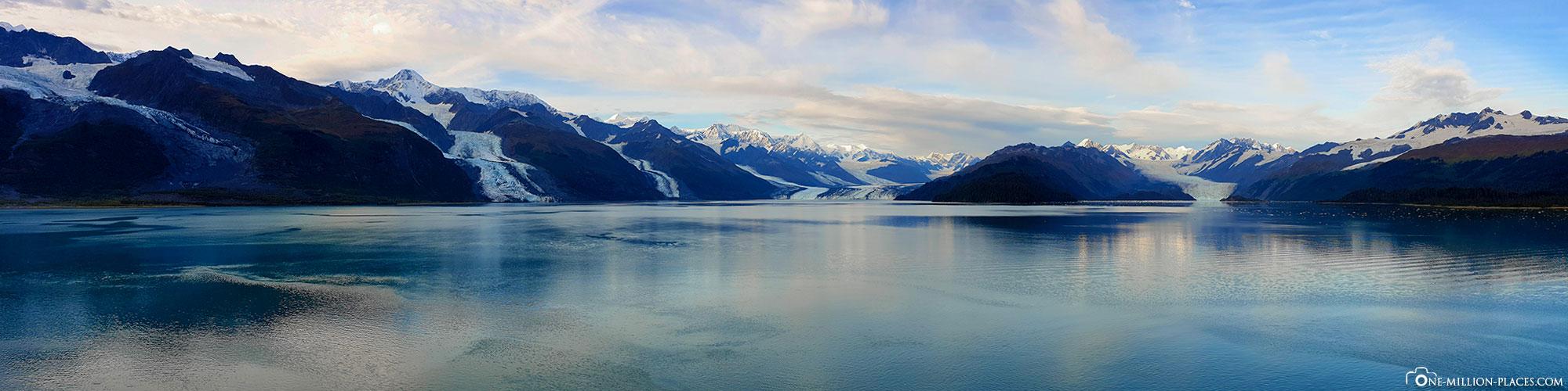 Panorama, College Fjord, Princess Cruises, Kreuzfahrt, Alaska, USA, Reisebericht, Scenic Cruise