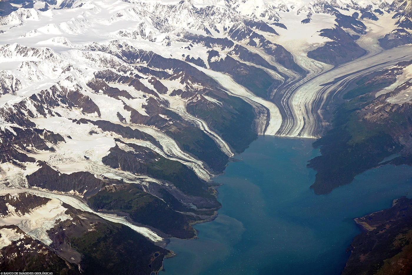 Alaska, College Fjord, Aerial Photo, USA, TravelReport, Princess Cruises, Cruises
